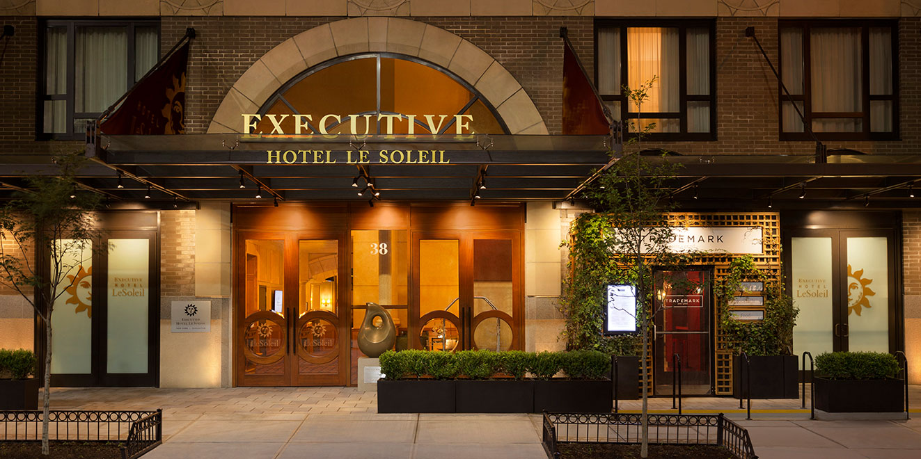 Downtown new york boutique luxury hotel hotel le soleil for Boutique hotels near central park