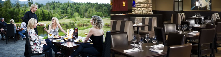 Dining at Squamish Hotel | Squamish BC Hotels | Executive Suites ...